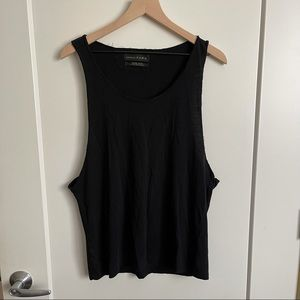 Zara Deluxe Cotton Muscle Tank Short Sleeve Tshirt